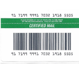 Certified Labels Exclusively for SendSuite<sup>®</sup> Live & SendSuite<sup>®</sup> Xpress (50 labels/pack)