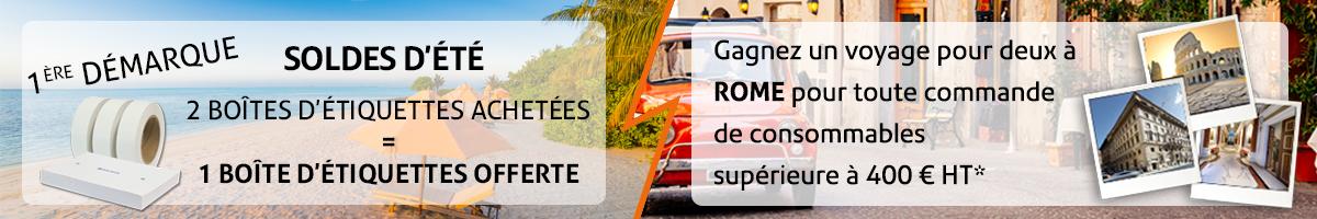 Gagnez un voyage pour deux à Rome