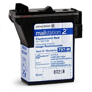 Red Ink Cartridge for mailstation2™