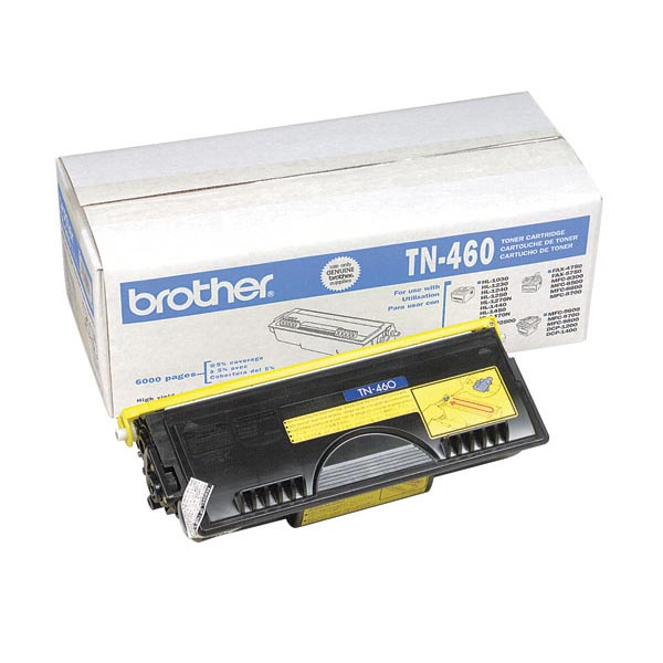 Brother TN460 High yield Toner Cartridge (6,000 yield)