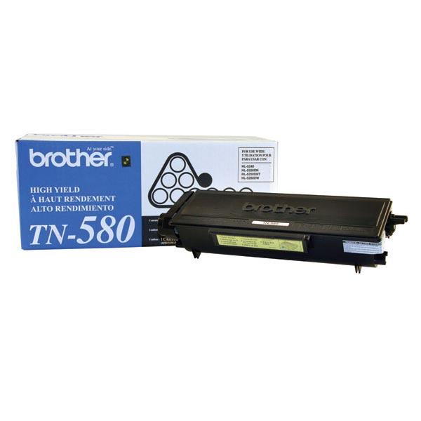 Brother TN580 High yield Toner Cartridge (7,000 yield)