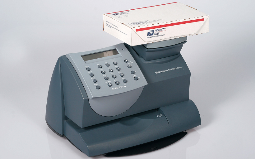 pitney bowes mail meter machine