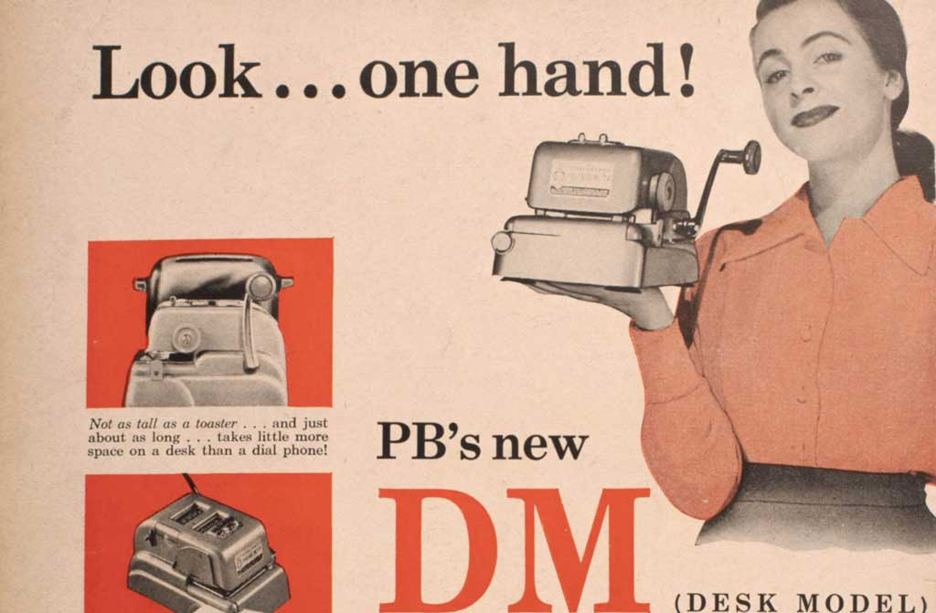 Image of Pitney Bowes DM ad