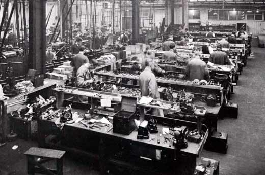 Image of assembly line