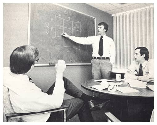 Image of a brainstorm meeting