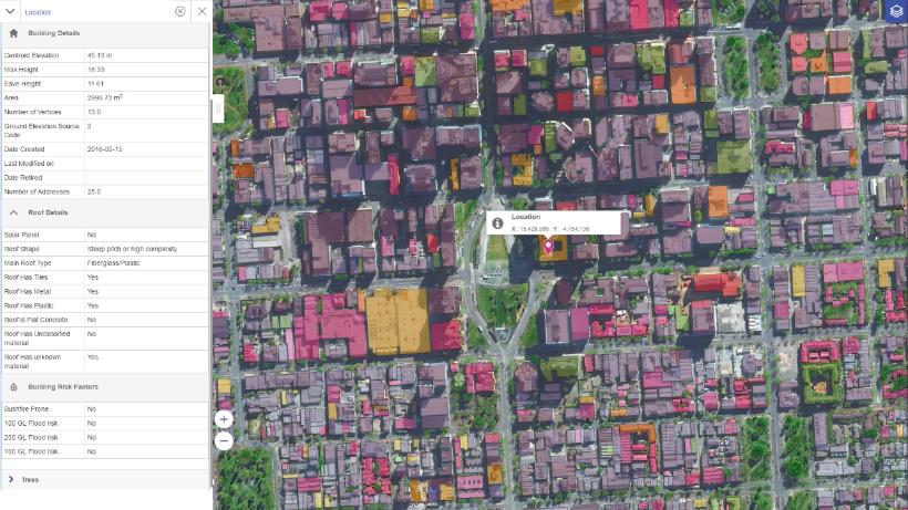 Geovision Built Environment Data Pitney Bowes