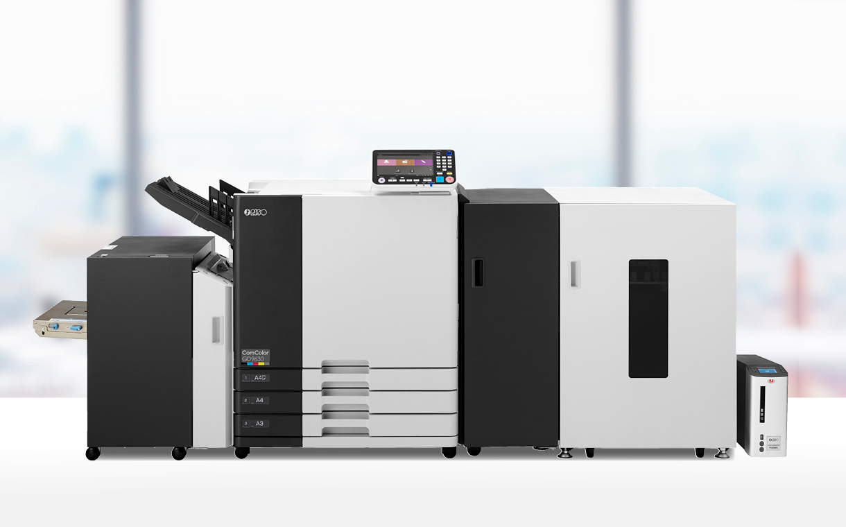 Image of GD7330 RISO ComColor Inkjet Printer with scanner