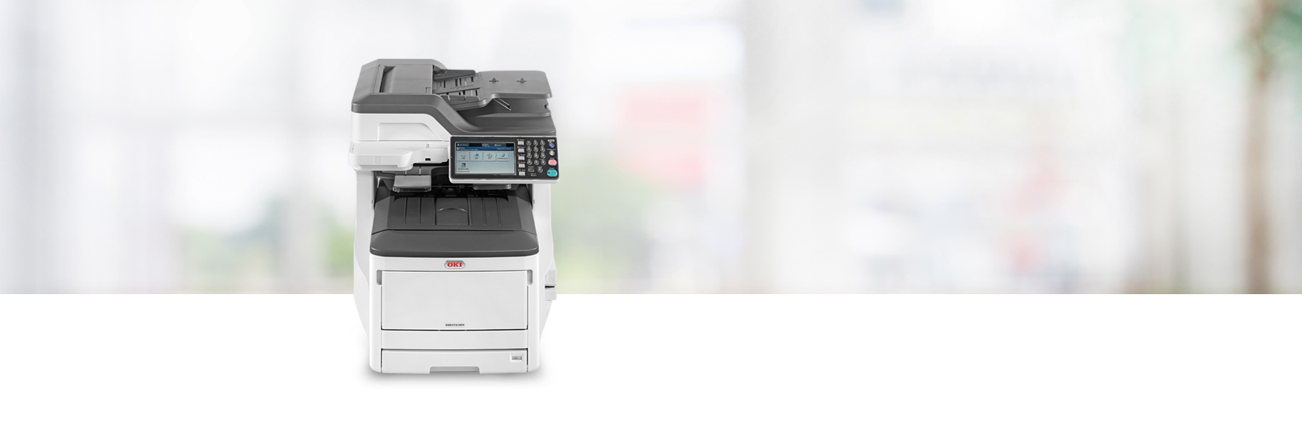 OKI ES8473 A3 Colour Multifunction Printer}