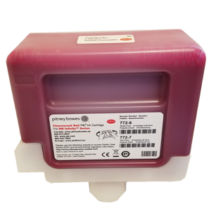 Red Ink Cartridge - Single for DM Infinity™ Mailing Systems