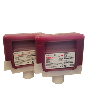 Red Ink Cartridge (Twin Pack) DM Infinity™ Mailing Systems
