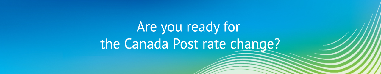 The Canada Post rate change page