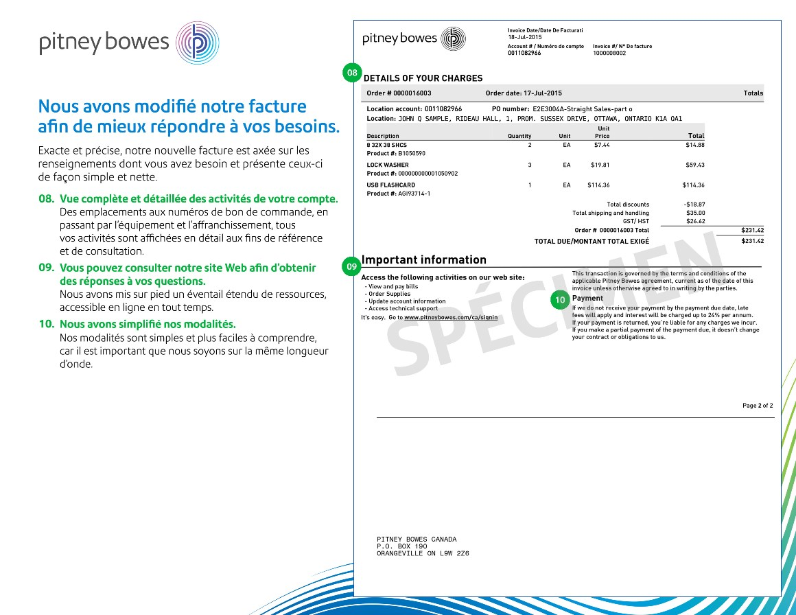 pitney bowes update instructions