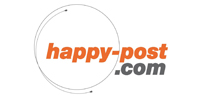 Happy-post logo