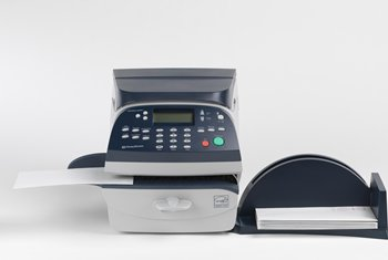DM220i Digital Franking Machine front view