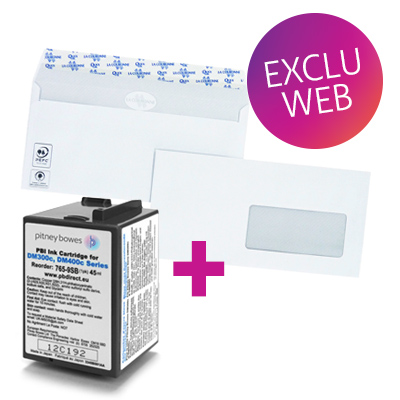 Pack encre + enveloppes DM300c / DM400c / DM 425c