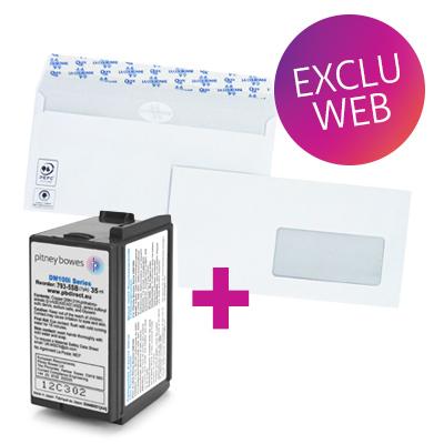 Pack encre + enveloppes DM100i / DM125i / DM175i / DM220i