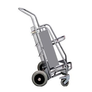 Chariot - diable pliant - 4 roues