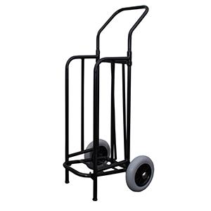 Chariot diable pliant - 2 roues - 2 pieds