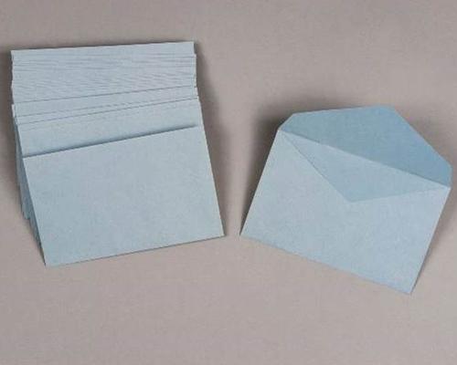 1000 enveloppes pour bulletin de vote bleu 90 x 140mm 70g