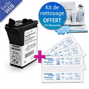 Pack encre + étiquettes + kit de nettoyage DM 50 / DM 55