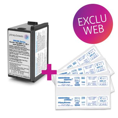 Pack encre + étiquettes DM100i / DM125i / DM175i / DM220i