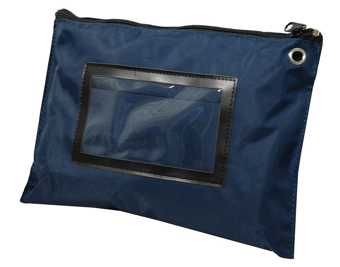 Pochettes de caisse bleu marine L27xH19cm
