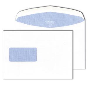 Briefumschläge C5, gummiert, mit Fenster, 80 g/m²