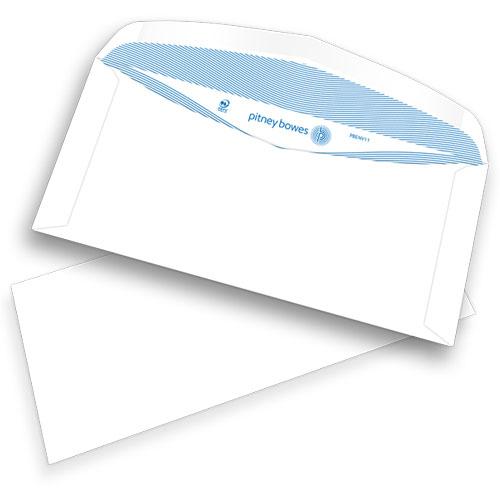Pitney Bowes® C6/5-Kuverts, gummiert, ohne Fenster, 80g/m²
