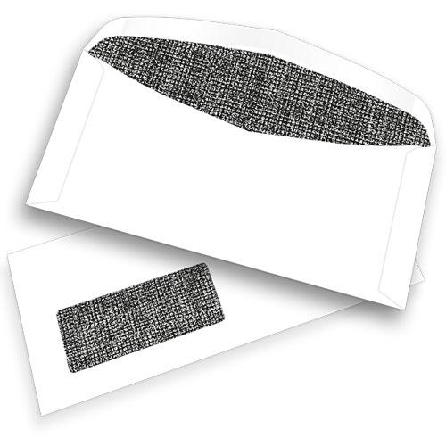 Pitney Bowes® C6/5-Kuverts, gummiert, mit Fenster, 80 g/m²