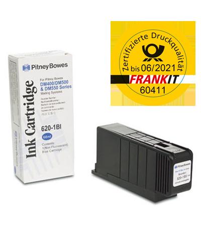 Pitney Bowes Frankierfarbe für Frankiermaschine DM400, DM500, DM550