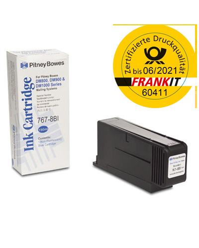 Pitney Bowes Frankierfarbe für Frankiermaschine DM800, DM900, DM1000