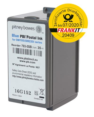 Pitney Bowes Frankierfarbe für Frankiermaschine DM100i, DM220i, SendPro C und SendPro+