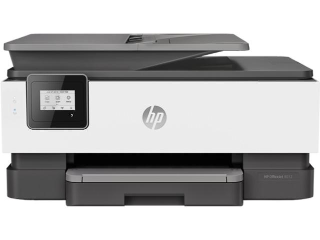HP OJ 8012 3In1 Tintenstrahldrucker 1KR71B#BHC A4/Duplex/Wlan/Multi/Farbe