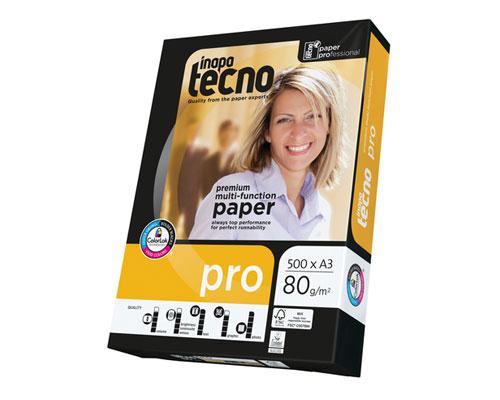 Inapa tecno paper pro - DIN A3, 80g/m², B-Qualität, 2500 Blatt/Karton