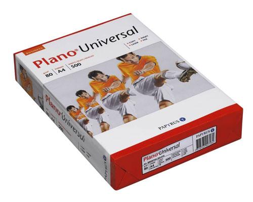 Plano Universal - DIN A4, 80g/m², B-Qualität, 2500 Blatt/Karton