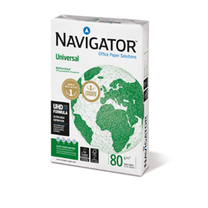 Navigator Universal, DIN A4, 80g, 2.500 Blatt/Karton