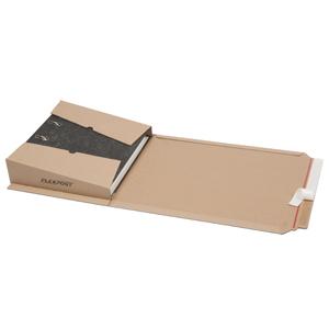 Flexpost Ordnerverpackung 320x290x35-80mm 1.02 B braun - 25 Stk.