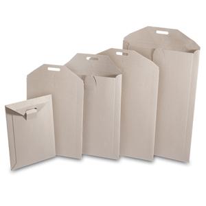 Buchboxtasche 250x353 mm ungummiert - 100 Stk.