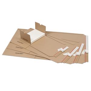 Flexpost Buch-/Universalverpackung A3,455x320x20-55mm1.02B braun - 25 Stk.
