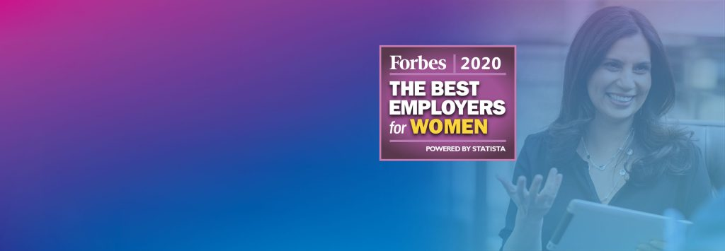 Forbes names Pitney Bowes among America's Best Employers for Women in 2020.