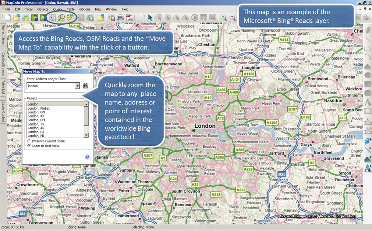 MapInfo Pro™ Premium Services on pitney bowes, quantum gis, open geospatial consortium, oracle spatial, mapinfo professional, geographic information system, grass gis,