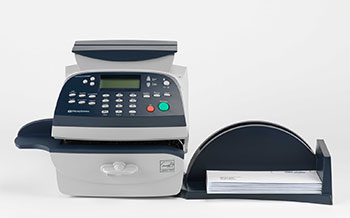 pitney bowes dm100 franking machine