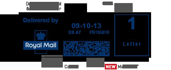 Brand New Mailmark insignia