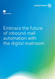 Embrace the future of inbound mail automation with the digital mailroom