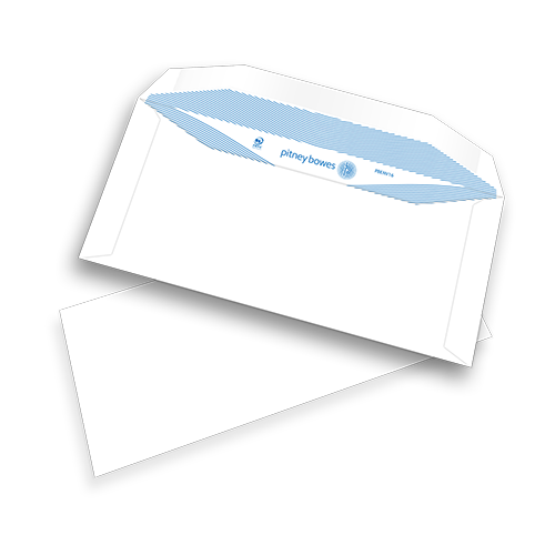 Pitney Bowes® Envelopes DL+ Gummed Plain White 90gsm - pk1000