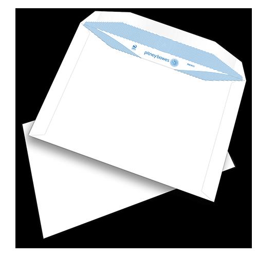 Pitney Bowes® Envelopes C5+ Gummed Plain White 90gsm - pk500