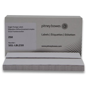 Box of 250 Single Label Sheets