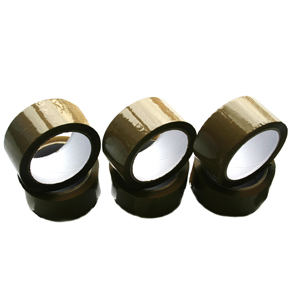 Rolls Of Brown Packing Parcel Tape 48mm x 66m - 36 Rolls