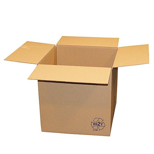 Brown Single Wall Vari-Depth Boxes - 410x410x410 - pk25