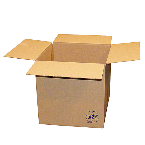 Brown Single Wall Cardboard Boxes - 127x127x127 - pk25